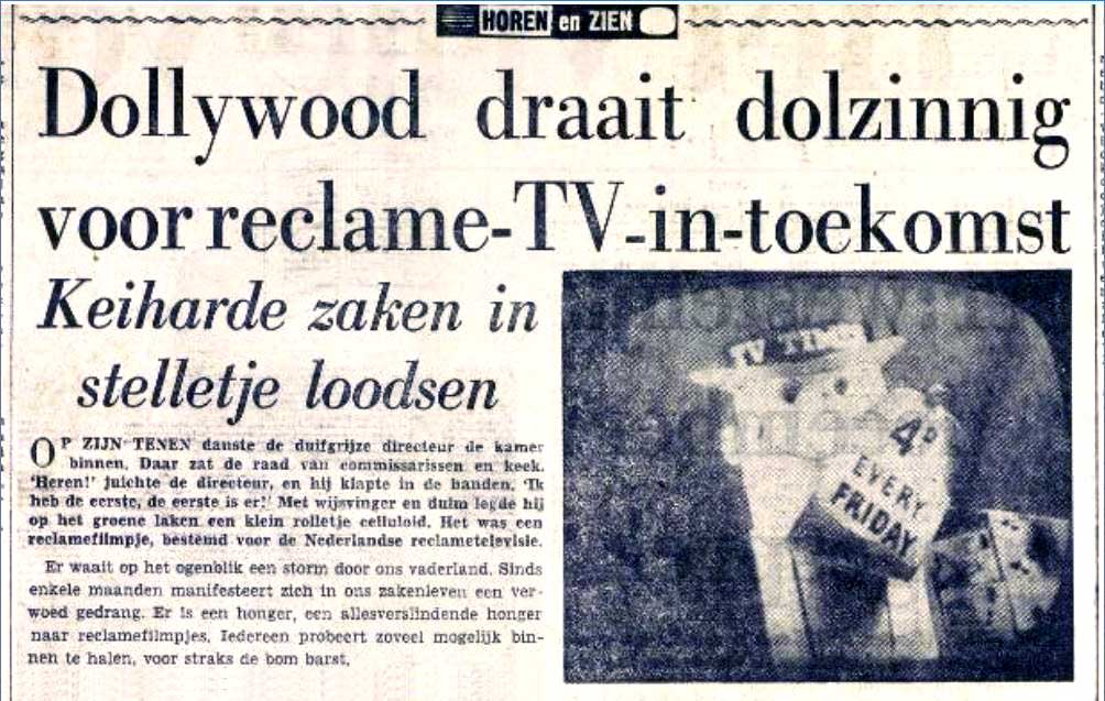 Dollywood draait Dolzinnig (1959)