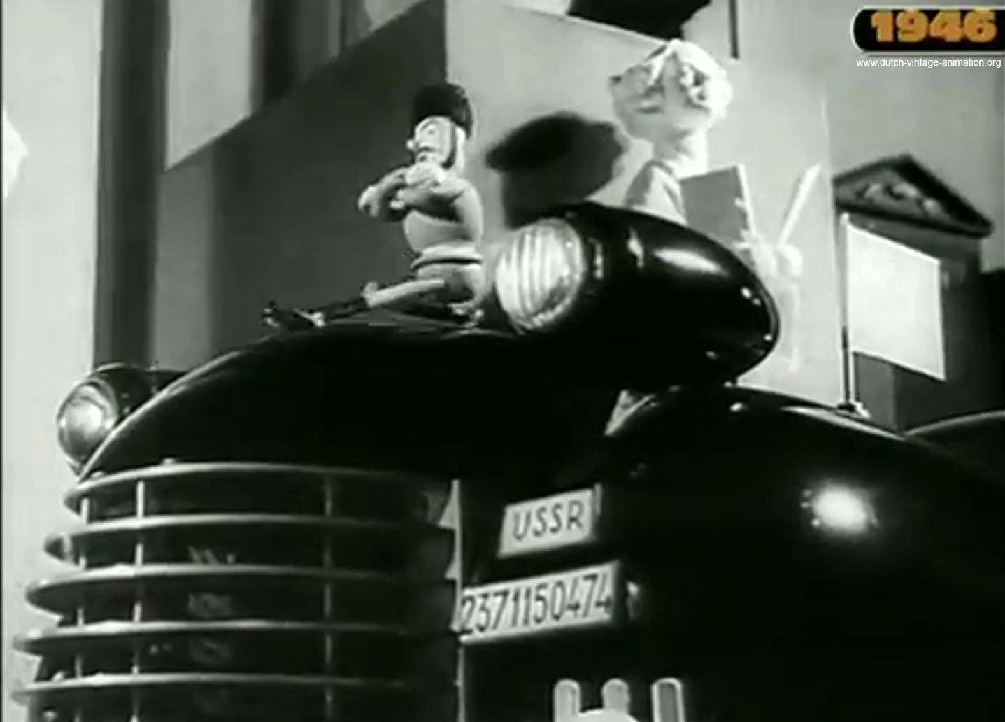 Still from The Big Four in Conference (1946)