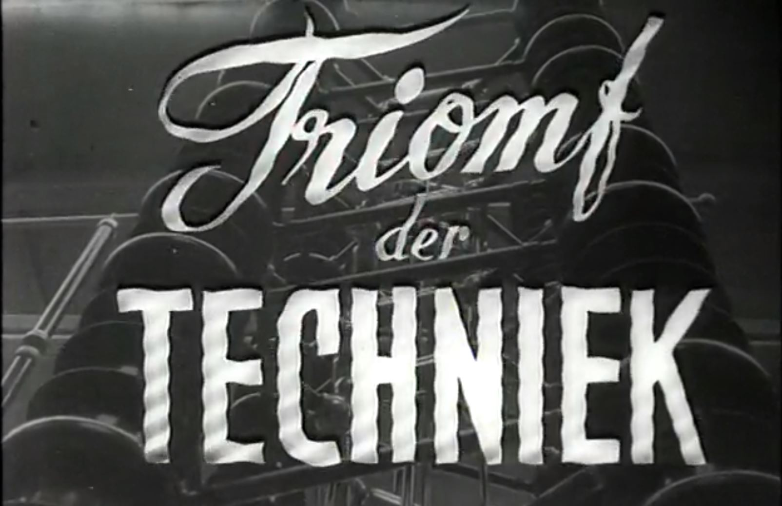 Triumph of Technology (1951)
