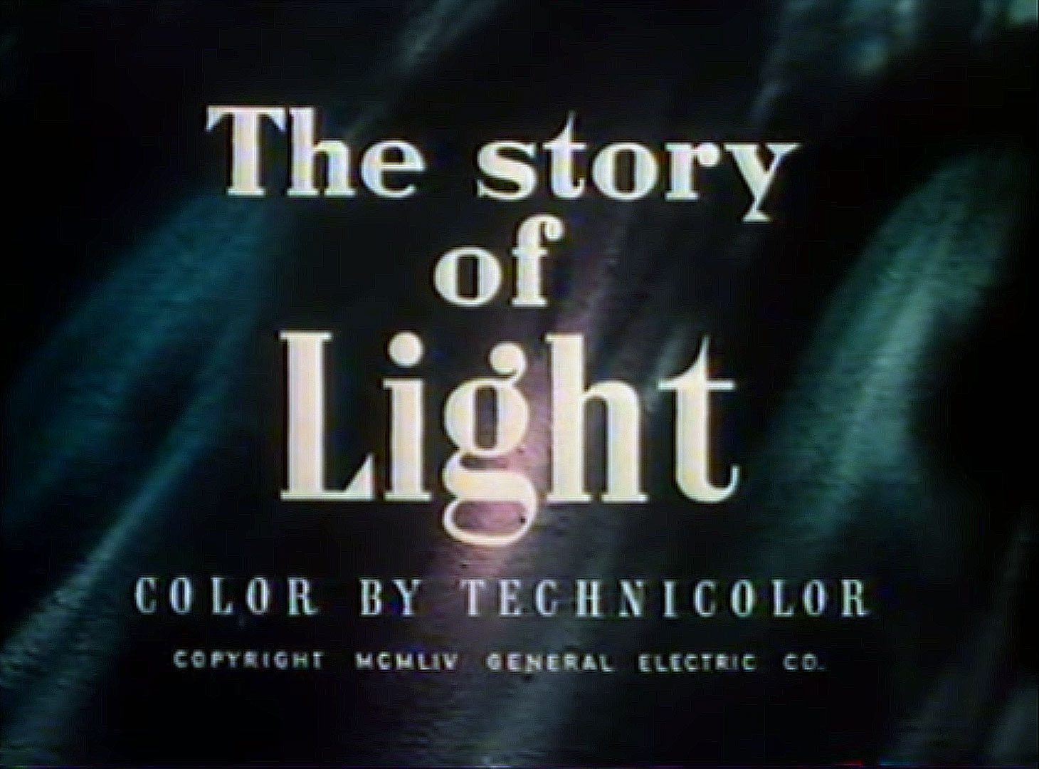 The Story of Light (1954)